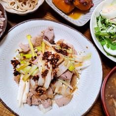 豚肉と葱のパーロー(爆肉)/葱と豚肉炒め