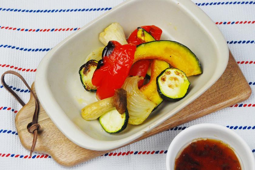 魚焼きグリルで☆グリル野菜
