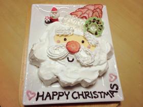 クリスマス☆サンタケーキ