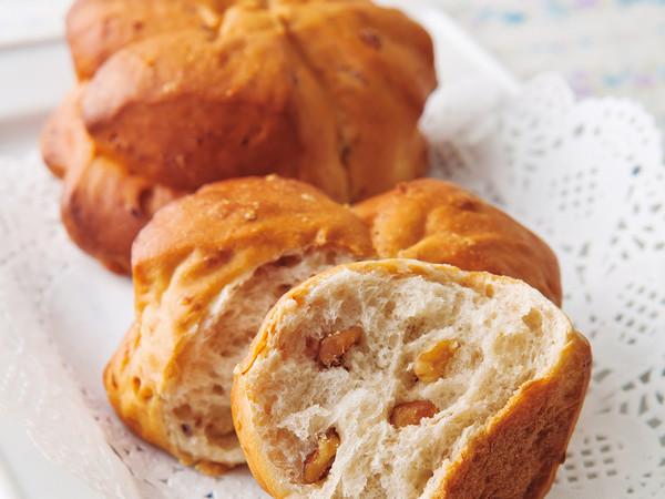メープルくるみパン. プロのレシピ