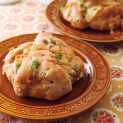 枝豆とくるみのパン