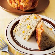 チーズペッパーコーンパン