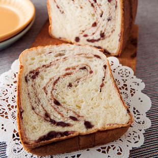 あんこマーブルパン