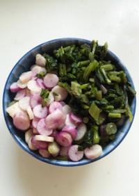 日野菜の漬物☆