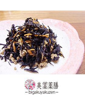 ひじきのひき肉生姜炒め 薬膳 血虚レシピ