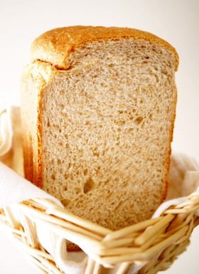 朝食に♪HB早焼き★全粒粉50%食パン