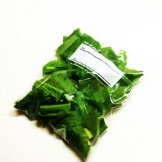 ☆簡単☆生のまま!小松菜の冷凍保存方法