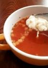 簡単朝ごはん、夜食に!暖まる♪スープご飯