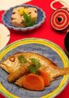 介護食 尾頭付きの鯛 お祝い膳