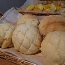 ビニール1枚でメロンパンのクッキー生地!