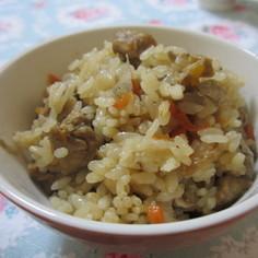 絶品♪鶏ごぼうの炊き込みご飯
