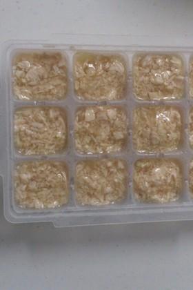 ☆ささみの冷凍保存☆離乳食中期
