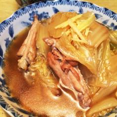 超簡単♪温まる鶏手羽と白菜の煮物☆