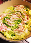 簡単!定番♡豚バラ白菜のミルフィーユ鍋