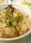 簡単!麺つゆで絶品 牡蠣の炊き込みご飯♪