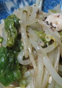 鶏と野菜のさっぱり炒め