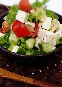 無塩料理☆カプレーゼ風イタリアンサラダ
