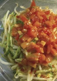 もやしときゅうりのサラダ