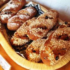 オーツ麦ドライフルーツパン