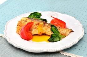 マジカルスパイスを1ふり白身魚のソテー