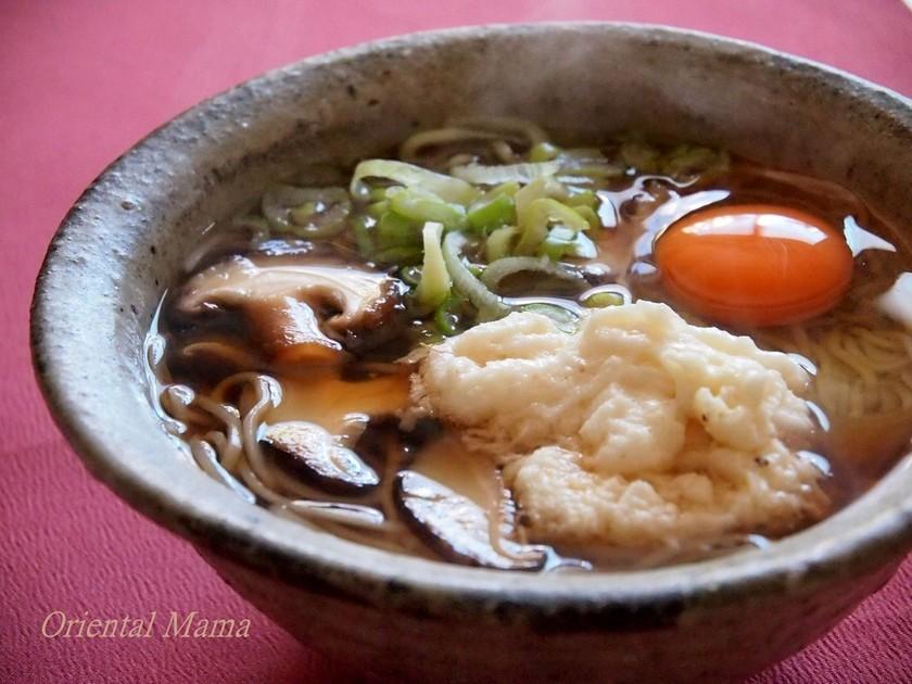 胃腸にやさしい!温かな日本蕎麦