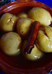 Guayabas en almibar