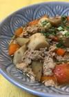 豚肉と根菜の甘辛煮