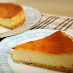HM&ミキサー簡単*ベイクドチーズケーキ