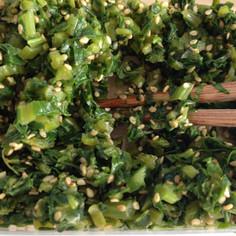 簡単・常備菜 カブの葉のふりかけ