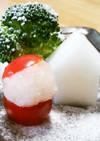 大根&トマト&ブロッコリーでクリスマス☆