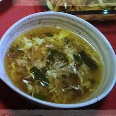 免疫力アップ★舞茸とねぎの酸辣湯風スープ