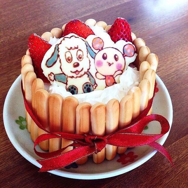 1歳*誕生日ケーキ わんわん