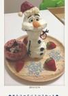 オラフのクリスマスケーキ☆