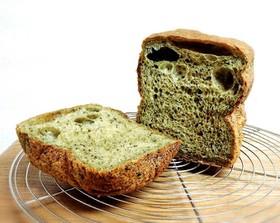 HBで♡ほうれん草ときなこの食パン