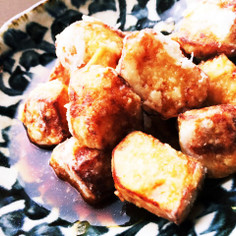 里芋の唐揚〜甘辛&塩味〜