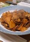 ゼンマイとタケノコのピリ辛炒め煮