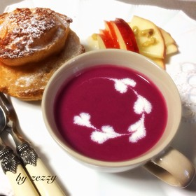ブレンダーで!簡単♥ビーツのスープ