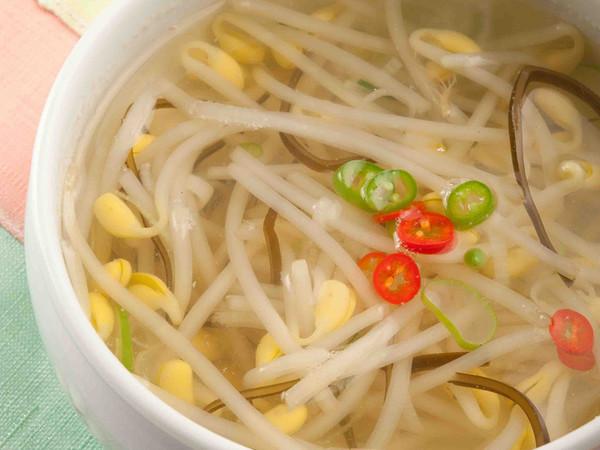 もやしスープ