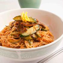 ピリ辛和え麺