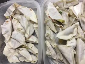 餃子の冷凍保存