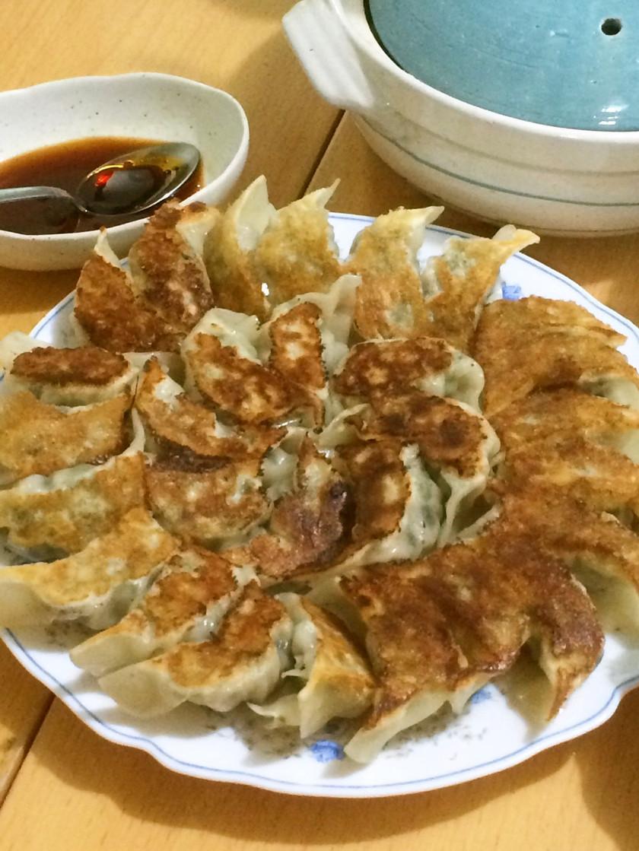 キムチ野菜餃子
