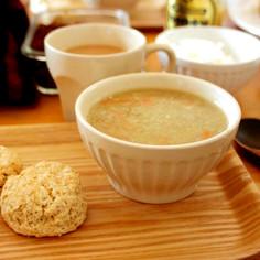 ぽかぽか体温UP。蓮根の養生とろみスープ