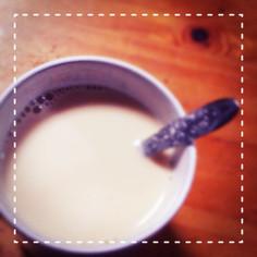 豆乳きなこドリンク♩