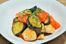 トマトと鶏のイタリアン炒め