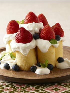 ふわふわキャンドルケーキ