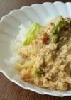 豆腐とレタスでかさ増し☆鶏ミンチの甘辛丼