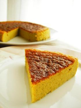 超ヘルシー♪かぼちゃのプディングケーキ★