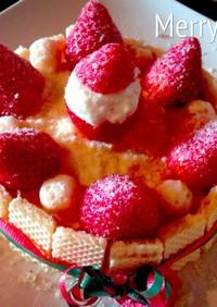 離乳食 可愛い&お洒落 クリスマスケーキ