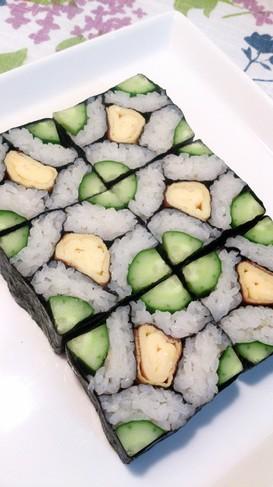 ♪パーティーやおめでたい時に☆飾り寿司♪