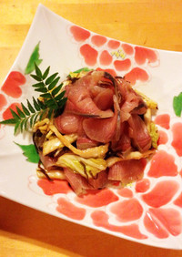 男の料理☆緑茶のおさかなスモーク